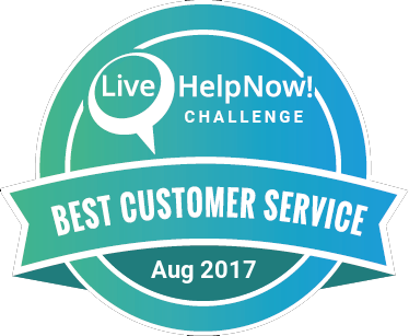 Live Chat Customer Service Award Feb 2017