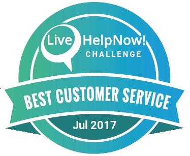 Live Chat Customer Service Award Feb 2017