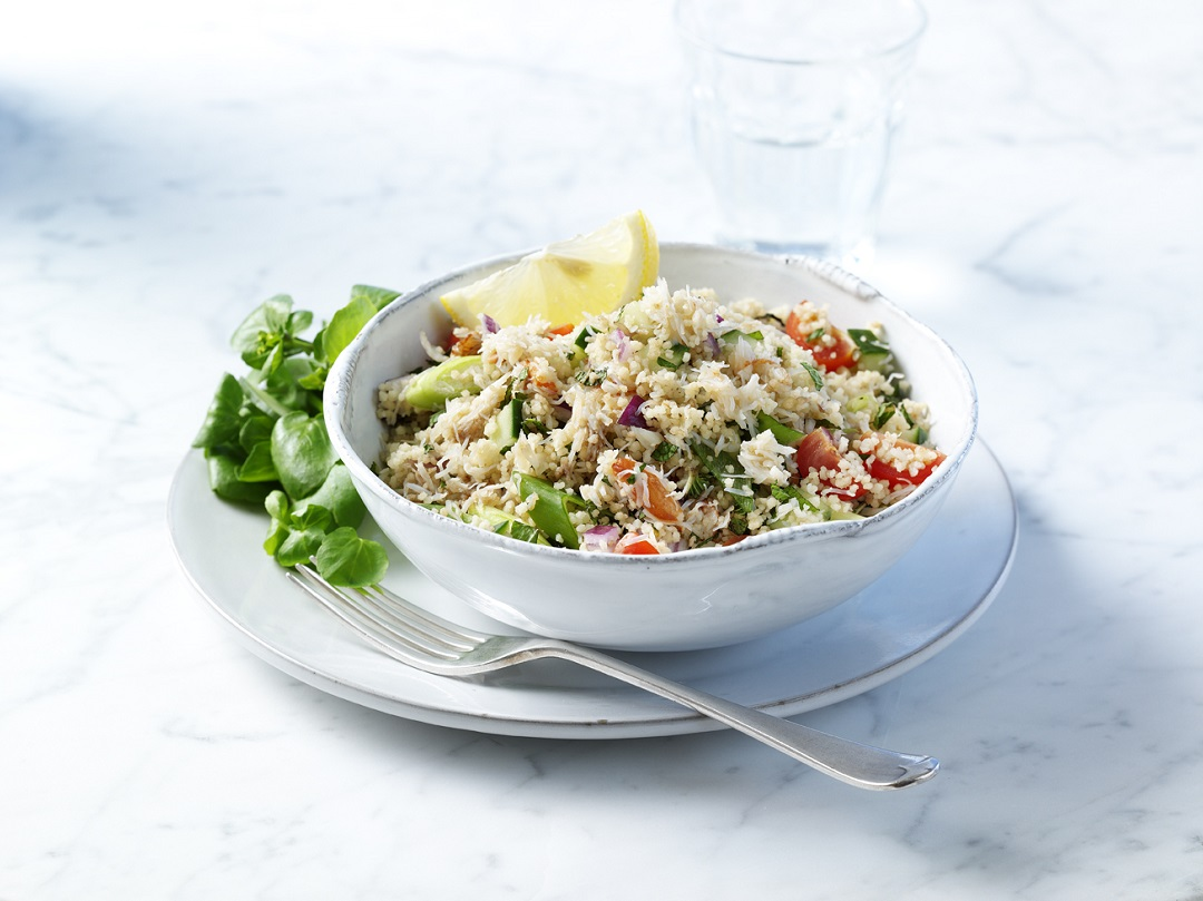 Lunch recipe: Crab and couscous