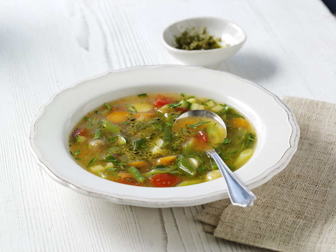 Lunch recipe: Fresh provençal soup