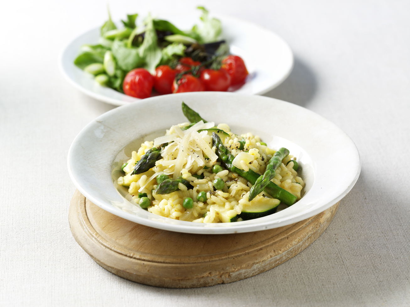 Dinner recipe: Risotto primavera