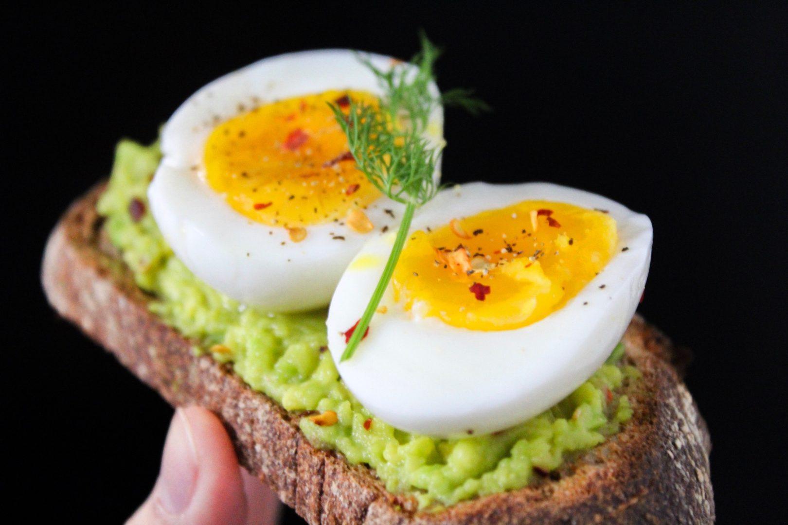 Breakfast recipe: Avocado toast with boiled egg