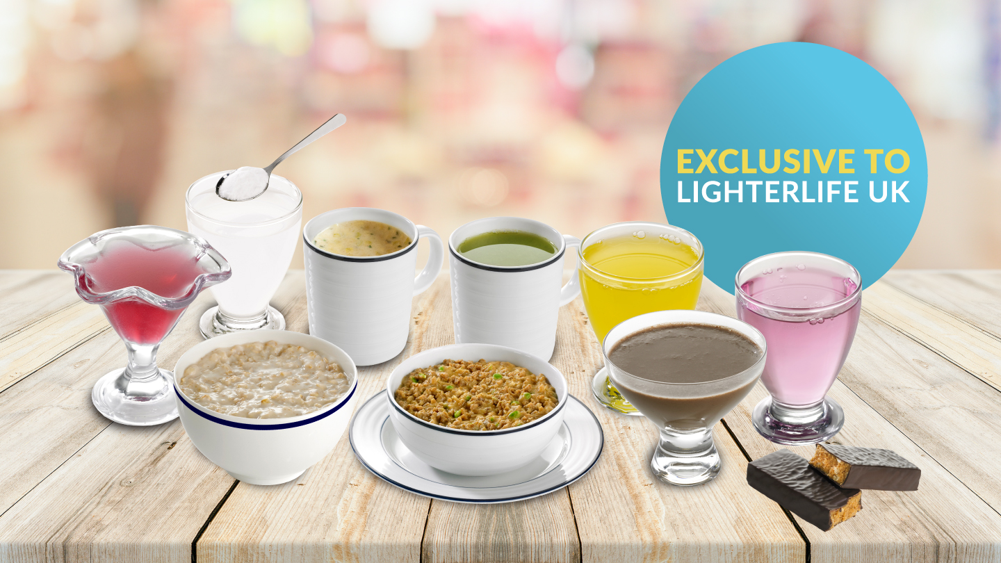 Products exclusive to LighterLife UK