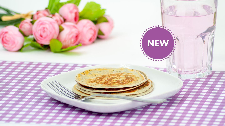 NEW Blueberry Pancakes