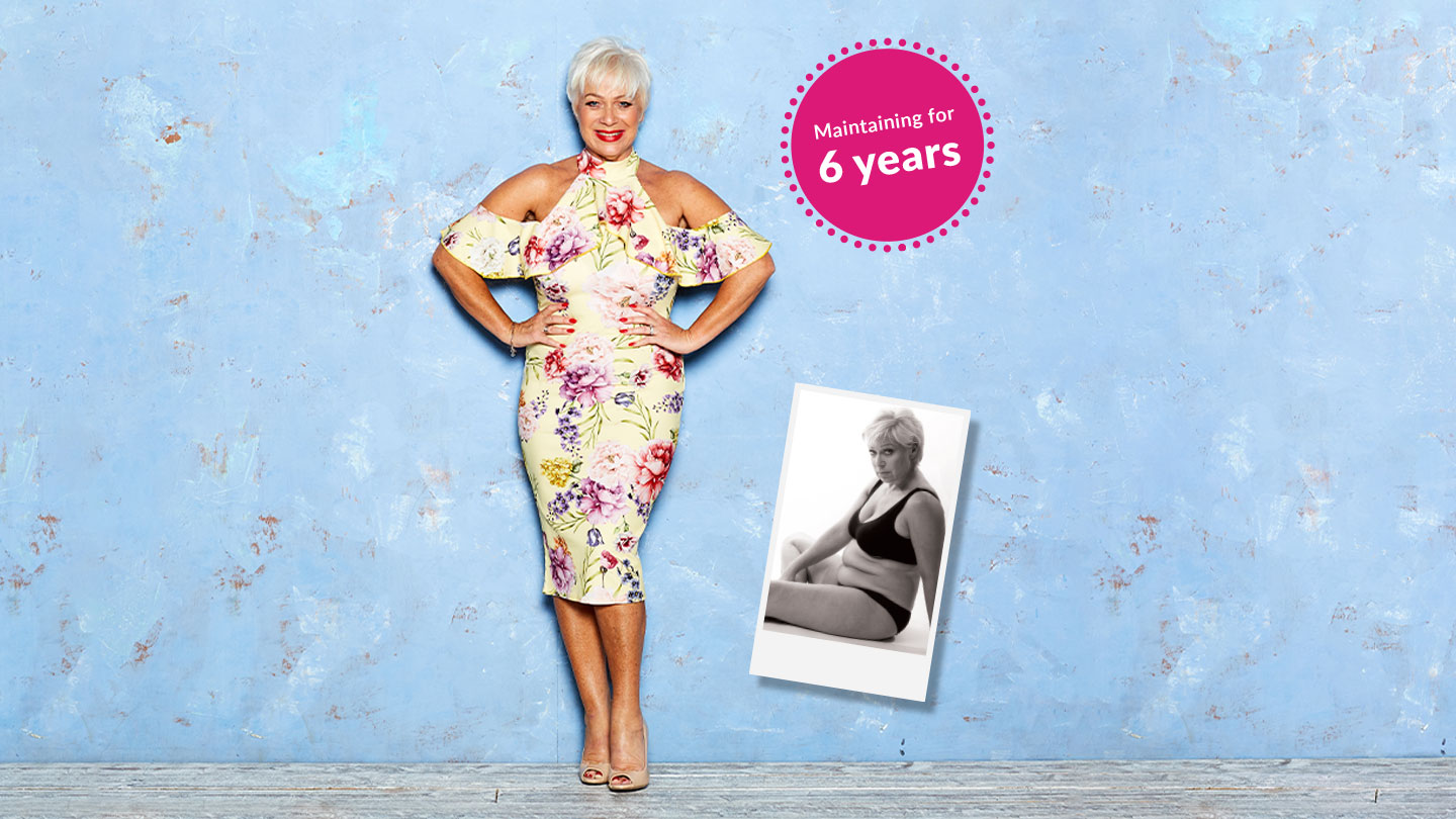 Denise Welch: 6 years as LighterLife's ambassador