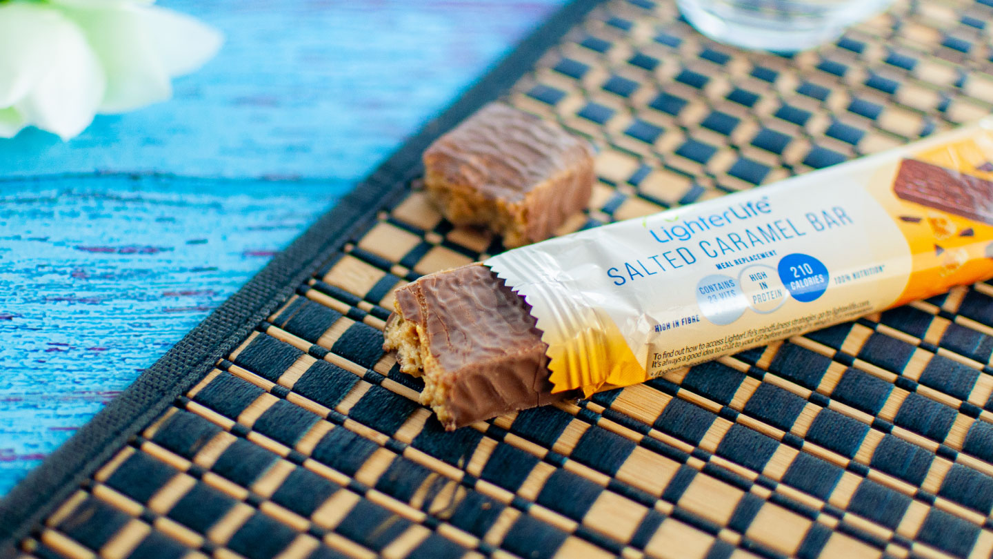 NEW – Salted Caramel Meal Replacement Bar