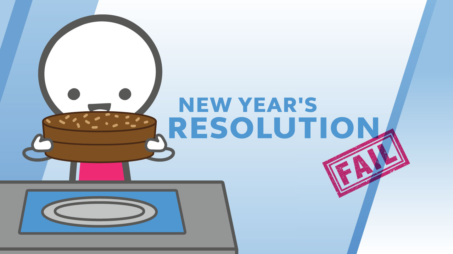 New Year's Resolution – FAIL