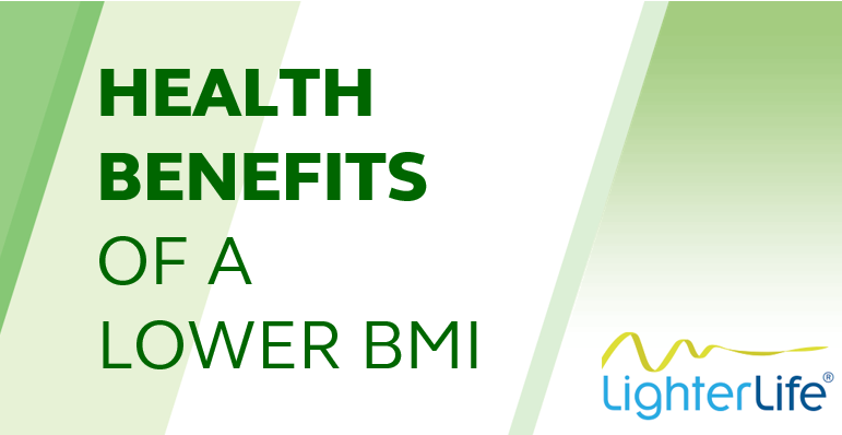 Health benefits of a lower BMI
